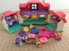 Little people house and figures