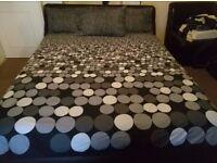 - GelFlex memory mattress (king size) + Ottoman Bed frame (king size) + 3 pillows