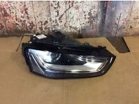 2015 AUDI A4 S4 RS4 B8 FRONT DRIVERS XENON LED HEADLIGHT RIGHT O/S