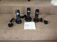 Three receiver home phone