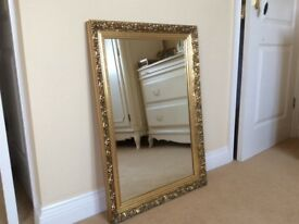 Gorgeous Wall Hanging Gold Mirror Superb