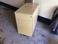 Desk filing cabinet H73cm x D80cm x W43cm