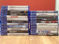 PlayStation 4 (PS4) Games in excellent condition