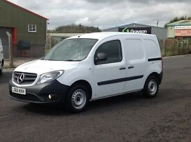 2015 LONG WHEEL BASE MERCEDES CITAN CDI. 2 SIDE LOADING DOORS AND ALL THE OPTIONS FITTED. GREAT MPG.