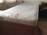 Almost New Single Bed with Storage