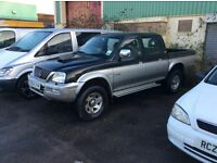 Mitsubishi l200 double cab pic up