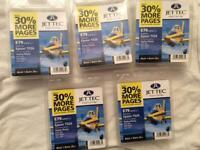 Jet Tec Inkjet Cartridge for Epson T026. Pack of 5
