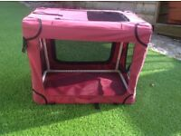 Fabric Folding Crate/Kennel