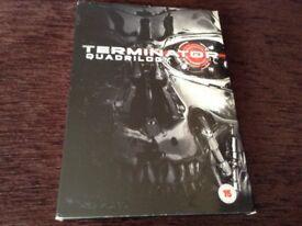 Terminator quadrilogy DVD boxset