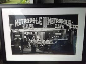 Picture frame of new york