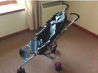 Single buggy push chair