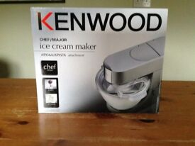 Kenwood Chef Ice Cream Maker AT956A/AT957A