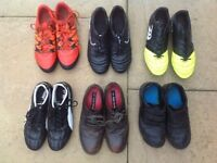 Boy's Shoes Clarks, Adidas, Canterbury, etc Sizes 2.5 G and 5