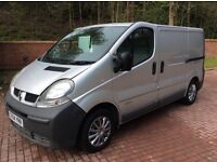 2004 04 Renault trafic 1.9 dci diesel 100 ps absolutely mint no vat ,Silver