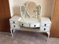 Antique vintage French Louis dresser