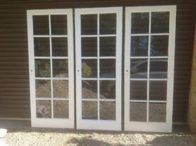 Glazed Timber Door (1 available)