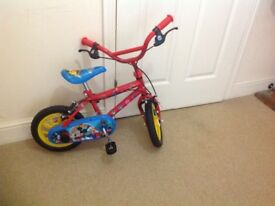 """Mickey Mouse cycle 12"""" inch £35"""