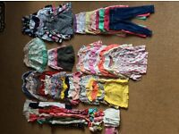 Full wardrobe of summer clothing for 2-3 year old girl