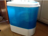 Great washing M/C suitable caravan, boat, studio flat.Wash Capacity (3.6kg)Wash (240W) Spin (120W)