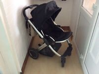 OYSTER STROLLER with ACCESSORIES incl. BABY CAR SEAT