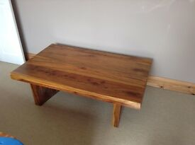 Rosewood/sheesham solid wood coffee table
