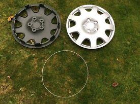 "Universal fitment 14"" wheel trims"