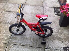 Red No 1 Racing bicycle