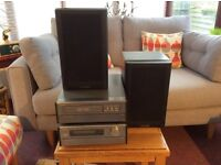 Denon Compact music system with Mission 760 speakers
