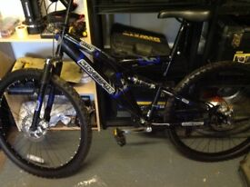 Silver Fox mountain bike for spares or repair