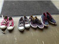 Boys polo canvas shoes