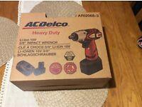 "ACDELCO ARI2068-3 CORDLESS COMPACT HEAVY DUTY IMPACT WRENCH 3/8"" 18V LI-ION"