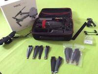 DJI Mavic Pro + 2 Batteries + extra props + case