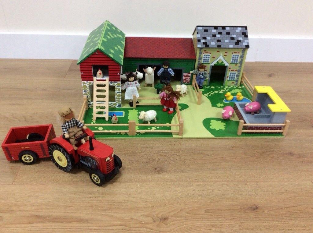 Oldfield Farm, Animals, Family & Bertie's Tractor