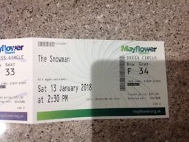 The Snowman Theatre Tickets