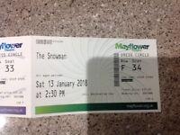 The Snowman Theatre Tickets