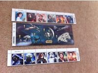 STAR WARS full limited edition Royal Mail stamp collection (brand new)