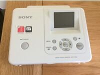 Sony photo printer