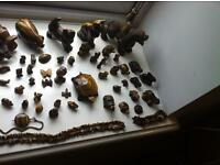 Tigers eye collection