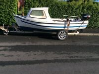 Orkney Boat Spinner and Trailer for Sale