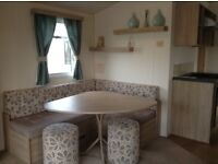 Seton sands haven park 2&3 bed deluxe caravans Dog friendly