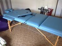 Healthline portable massage bed