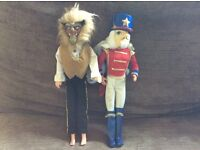 Two male character figures £5 each