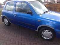 Nissan Micra Ally 1998 Spares or Repair
