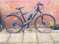 Scott ladies hybrid bike