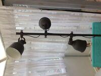 Ikea HEKTAR 3 spot light free standing lamp