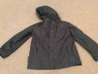 Black Lightweight showerproof coat