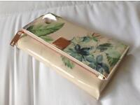 Genuine Ted Baker clutch bag.