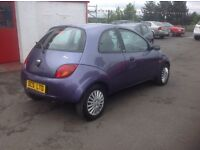 Ford Ka style 1.3 57 plate only 37000 miles FSH MOT ONE YEAR purple free 30 day/1000 mile warranty