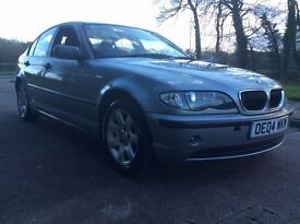 BMW 318I SE 4DR SALOON IN GREAT CONDITION WITH 11 MONTHS MOT AND SUPERB HISTORY