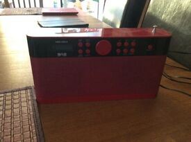 Bush DAB Radio - mains or battery powered - Model CDAB51RPR - fully working condition